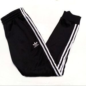 Adidas 3 Stripe Cuff Jogger Pants
